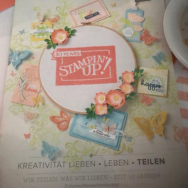 Wundervolle Stempelset, Framelits etc erwarten uns im neuen Katalog und in der Sale A Bration ️, schon mal ein kleiner Einblick . #stampinup #onstageberlin2018 #sab #julamé #frühjahrsommerkatalog2019