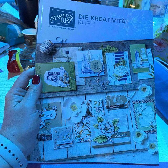 Der neue Katalog ist so schön ️#stampinup #julamé #onstage2019 #duesseldorfonstage2019
